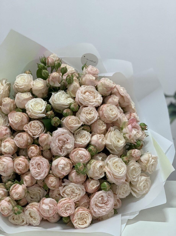 Букет Облако нежности из 31 розы