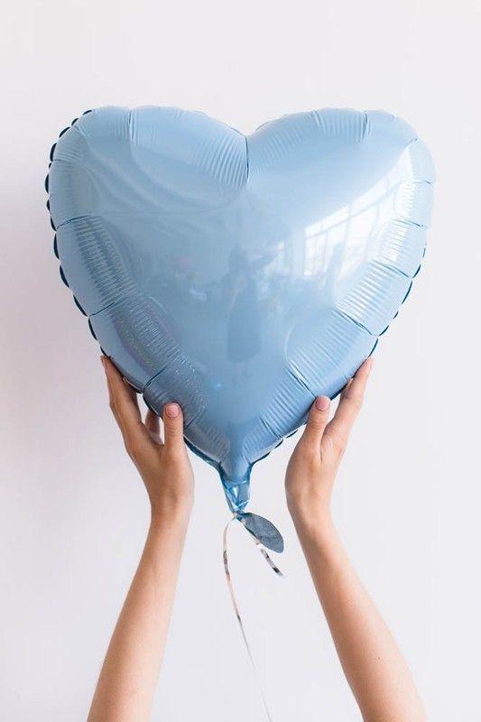 Фольгированое сердце!