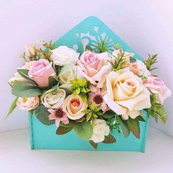 Цветы в конверте 3