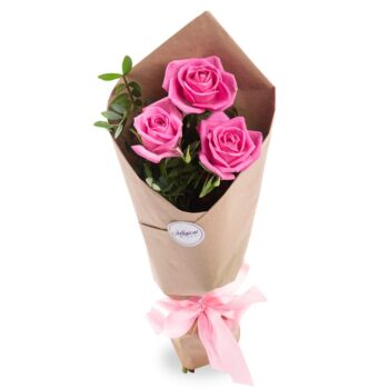 Букет из 3-х роз
